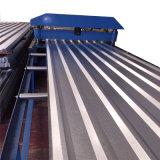 직류 전기를 통한 물결 모양 지붕 장, 물결 모양 루핑 단면도 지붕 장
