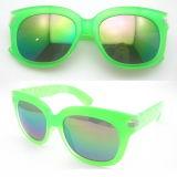 Óculos de sol de moda colorida feitos à mão para senhora