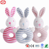Super Soft Stuffed Rabbit Plush Rattle Funny Game Toy