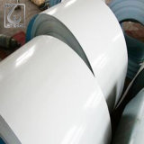 покрынный цвет цвета 9002 0.45mm задний белый гальванизировал стальную катушку для PPGI