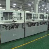 Impresora cilíndrica tricolor automática de la pantalla para el envase de la lubricación