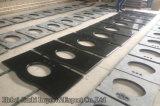 60 '' Undermount doble hunde la encimera prefabricada superior del granito de la vanidad