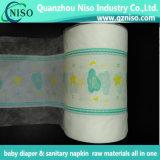Film de plastification partielle Cloth-Like pour bébé Diaper feuille arrière avec Ls-Plf0810