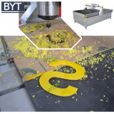 Fazendo o router do CNC do Woodworking do dinheiro fácil com capa da poeira