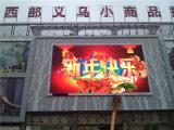 Гигантский напольный экран полного цвета СИД зафиксированный на здании (P16)
