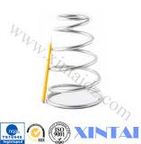 Aço inoxidável mola de compressão em aço de alta temperatura