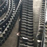 trilha de borracha da largura de 265mm para a mini máquina escavadora (V265X72X52)