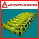 Tipo regulado personalizado cilindro hidráulico do desengate reto para o projeto da tutela da água