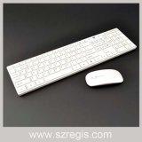 マルチメディアのキーのMulti-Languageレイアウトの細い無線ラップトップマウスおよびキーボード