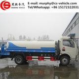 Dongfeng 4X2 camion dello spruzzatore dell'acqua del camion del serbatoio di acqua da 5 tonnellate