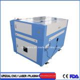 Hölzerne Puzzlespiel CO2 Laser-Ausschnitt-Maschine mit Gefäß Laser-90W