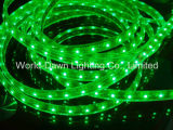 Luz de tira flexible del color verde SMD 3528/5050 LED con Ce y RoHS