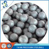 Bañado en cobre de bolas de acero pulido en cromo