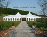 Tenda poligonale di Weddng del blocco per grafici di alluminio della tela di canapa del PVC
