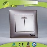Interruttore standard della parete del PC di colore dell'Ue certificato Ce/TUV/BV