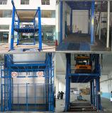 Ascenseur de fret vertical de chaîne de longeron de guide pour multipoint