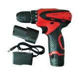 Power Tool taladro eléctrico 12V Batería de litio de dos velocidades eléctricas taladro inalámbrico recargable