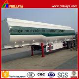 del gasolio 42000liters di autocisterna del camion serbatoio d'acciaio del metallo del combustibile del rimorchio semi
