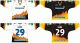 Hokey di ghiaccio personalizzato di Severstal Cherepovets 2008-2010 della Lega di Hockey di Kontinental dei capretti delle donne degli uomini Jersey
