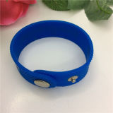 Vente chaude Cheap Custom Injection Silicone Rubber Fashion Bracelet