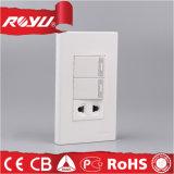 Tipi differenti interruttore elettrico, interruttore economizzatore d'energia del tasto di potenza