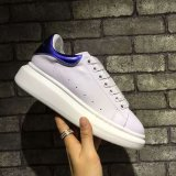 Schoenen 35-44 van de Sport van de Tennisschoenen van het Leer van de manier In te ademen Toevallige Lopende Witte
