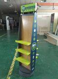 Настраиваемые Вращающаяся подставка для монитора с деревянным полом дисплей для установки в стойку