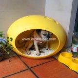 Het comfortabele Bed van de Hond van Eggshaped van de Bank van de Levering van het Product van het Huisdier Plastic