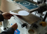 Écran plat de bureau de la soie de l'impression de la machine avec la fente en T
