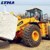 Maquinaria do granito carregador do Forklift de 28 toneladas com forquilha