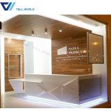 Meubles de bureau de réception, bureau de réception bon marché de meubles de bureau petit