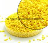 Contenido amarillo no tóxico del pigmento de los aparatos electrodomésticos de Masterbatch el 10% el 15%