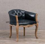 Festes Holz-Stuhl das Schlafzimmer sitzt Hotel-Retro Sofa-Stuhl der Kaffee-Stab-Stuhl vor (M-X3645)