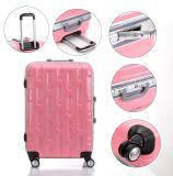 Розовый чемодан, багаж рамки новой конструкции алюминиевый (XHAF034)
