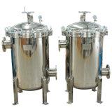 El caudal alto SUS304 Filtro de mangas de filtración de precisión