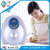 El ozono Purificador de agua verduras frutas Esterilizador de uso doméstico