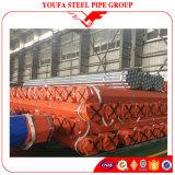 A tubulação de aço galvanizada galvanizou a tubulação galvanizada tubulação do ferro para a estufa