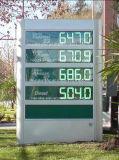 8-дюймовый изменения цен (3 уровня)