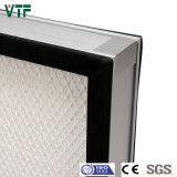H14 Mini-Pleated Filtro HEPA com Alta Eficiência de filtração