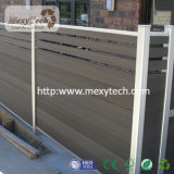 WPC zusammengesetzter neuer materieller Zaun für das Eco Leben
