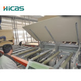 Cadena de producción de elevación y de ajuste automática de la tarjeta de partícula
