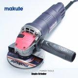 Amoladora de ángulo mojada eléctrica de Makute mini con el disco de 100mm/115m m
