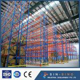 Sistema do racking da pálete para o armazenamento resistente do armazém