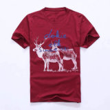 100%年の綿の印刷のTシャツ