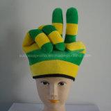 Festival-Hut für Fußball-Ventilatoren mit kundenspezifischem Firmenzeichen