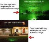 Vermelho e Verde Firefly móveis de jardim de Natal a luz do laser