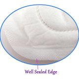 period Menstrual Cotton Absorbent 일 사용 날개를 가진 처분할 수 있는 숙녀 위생 패드