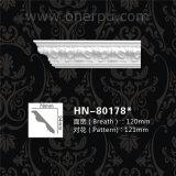 Hn80178を形成する屋内および屋外の装飾的なパネルPUのコーニスPU