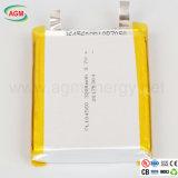 Polímero del litio de la batería de Pl104560 3200mAh 3.7V para el Uav