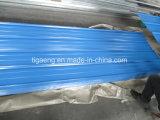 La tuile de toit enduite du profil PPGI de la couleur S/a ridé la toiture en métal à vendre
